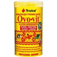 غذای پولکی بر پایه تخم مرغ برای انواع ماهی مدل ovovit