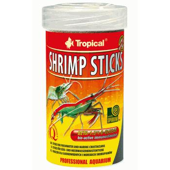 غذای استیک میگو حاوی برگ بادام دریایی مدل Shrimp Sticks