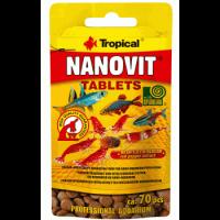 غذای قرصی شکل ماهیان کوچک و شریمپ مدل Nanovit Tablets