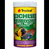 غذای پلت ویژه سیچلاید های جوان و کوچک مدل Cichlid Herbivore Small Pellet