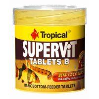 غذایی قرصی برای کف خوار ها و سخت پوستان مدل Supervit Tablets B