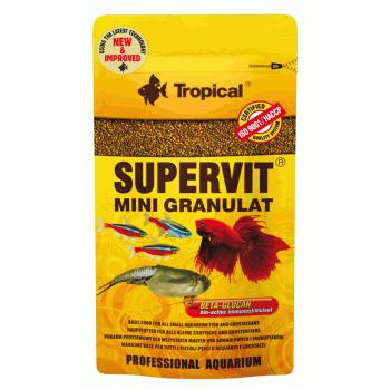 غذای گرانول سایز مینی برای انواع ماهی مدل Supervit Mini Granulat