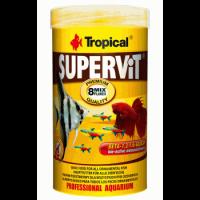 غذای پولکی برای انواع ماهی مدل Supervit